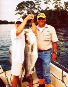 lake martin stripped bass