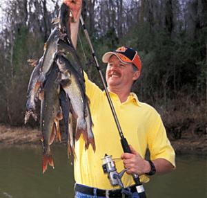 Lower Chattahoochee Catfish Action